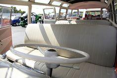 1962 Volkswagen Split-Window bus interior