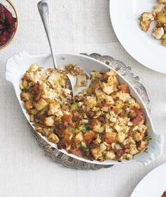 Get the recipe for Sausage and Apple Stuffing.