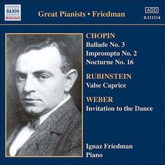 Friedman, Ignaz: Complete Recordings, Vol. 5: English Columbia Recordings (1933-1936) de Ignaz Friedman
