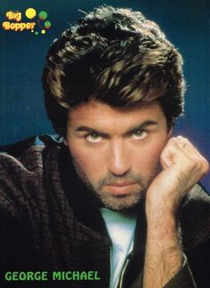 GEORGE MICHAEL pinup - CARELESS WHISPER A DIFFERENT CORNER - ZTAMS