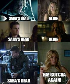 It's so oliver can watch her die/blame himself for said death a fourth time