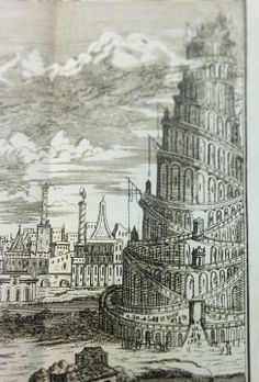 Found this fascinating treasure from the Special Collections cataloger of the Tisch Library anatomyofbibliomania: Prelude to a much larger image set for next week—the Tower of Babel.