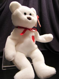 RARE Ty Valentino Beanie Baby PVC Swing Tag With ERRORS, No Number On Tush Tag on Etsy, $300.00
