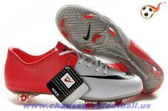 cd764545b Nike Mercurial Vapor VIII FG Blanc Rouge Noir FT2524 Nike Soccer Shoes
