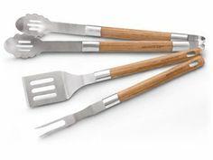 Rachael Ray Tools & Gadgets 3-pc. Bamboo BBQ Tool Set: at Rachael Ray Store