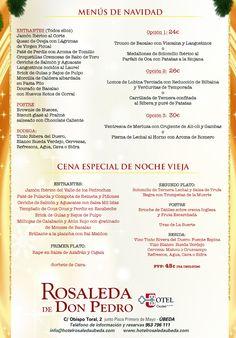 #ubeda #cenadeempresa #navidades#menu#findeaño#nochevieja2014 #felicesfiestas