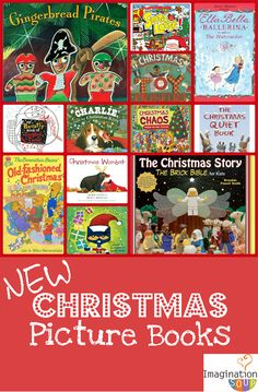 Time for New Christmas Books for Your Kids « Imagination Soup | Fun Learning and Play Activities for Kids
