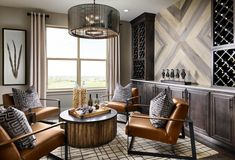 Wondering how to utilize spare rooms in your home? Learn more about flex rooms, and how to transform your bonus room with these design ideas & tips. Bar Lounge, Lounge Decor, Lounge Areas, Formal Living Rooms, Living Room Decor, Dining Room, Small Sitting Rooms, Sitting Area, Home Bar Rooms