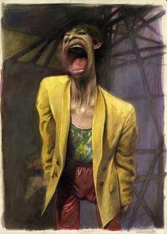 """Yellow Jacket - Mick Jagger"" by Sebastian Krüger"