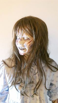 Ultra realistic doll of Regan, Movie The Exorcist Cast from an original studio effects casting by Dick Smith for the famous Exorcist Head Spin effect. Exorcist Movie, The Exorcist 1973, Realistic Dolls, Halloween, Movies, Ebay, Realistic Baby Dolls, Films, Movie