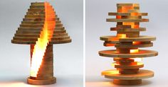 DIY Shape-Shifting Lamp That You Can Flip, Swirl And Arrange However You Want | Bored Panda