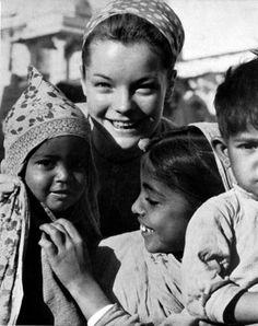 Romy Schneider in India