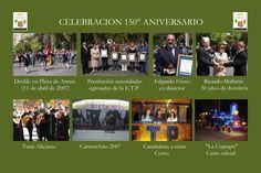 En 2007, se celebraron 150 años desde que el 11 de abril de 1857 se fundara el Colegio de Minería. Los festejos se iniciaron el domingo 1 de abril y culminaron el viernes 27. April 11, Celebration, Friday, Domingo
