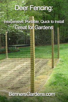 Easy Garden Design Ideas You Can Do Yourself - Garden Fence And Gates Raised Beds 36 Ideas For 2019 …be kept level. Diy Garden Fence, Backyard Fences, Easy Garden, Raised Garden Beds, Raised Beds, Deer Garden, Cheap Garden Fencing, Garden Tips, Patio Fence