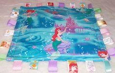 Little Mermaid Ariel Under The Sea Minky by GrammysKidsLoveys, $19.99