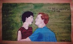 Elio & Oliver hechos por mí 😉 —Sherryl (insta: @sherryl_art)