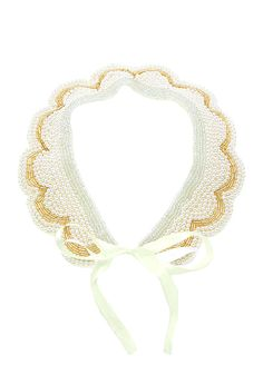 Crochet Necklace, Satin, Accessories, Jewelry, Fashion, Moda, Jewlery, Jewerly, Fashion Styles