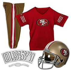 Franklin Sports NFL San Francisco 49ers Deluxe Youth Uniform Set Medium >>> Check this awesome product by going to the link at the image.