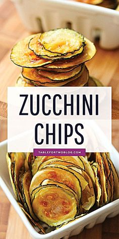 These Zucchini Chips are easy to make and are thin, crispy, and irresistible! zucchinichips zucchini zucchinirecipes recipes tablefortwo is part of Zucchini chips healthy - Comida Keto, Cooking Recipes, Healthy Recipes, Healthy Chips, Vegan Zucchini Recipes, Zucchini Chips Recipe, Healthy Salty Snacks, Courgette Recipe Healthy, Vegan Snacks On The Go