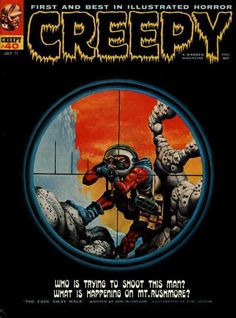 Cover for Creepy (1964 series) #40
