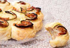 Torta di Rose veloce salata con Zucchine e Prosciutto