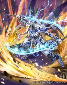 Fantasy Demon, Fantasy Beasts, Fantasy Weapons, Fantasy Warrior, Dark Fantasy Art, Sci Fi Anime, Mecha Anime, Mythical Creatures Art, Fantasy Creatures