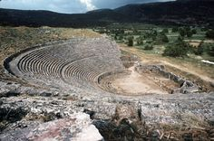 Ferdinando Scianna 1969 GREECE,Epidaurus.The ancient theatre,(c)Ferdinando Scianna/Magnum Photos