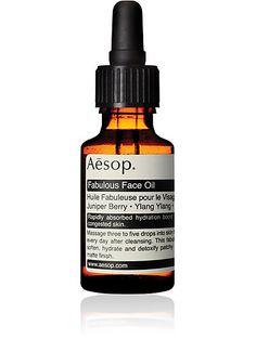 Aesop Fabulous Face Oil - - Barneys.com--for combination skin (decongesting, balancing)