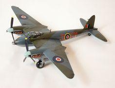De Havilland Mosquito FB Mk.VI, 248/254 Sqn. RAF, 1944, 1/72, Airfix