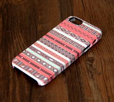 Pink Ethnic White Stripes iPhone 6 Plus 6 5S 5C 5 4 Protective Case – Ac.y.c