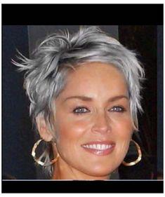 Short Hair Over 60, Super Short Hair, Short Thin Hair, Short Hair Older Women, Short Hair With Layers, Grey Hair For Short Hair, Grey Hair Haircut, Gray Hair Women, Grey Hair Styles For Women