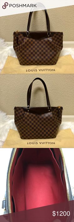 cff940cff2 Louis Vuitton - Westminster GM ❤ Authentic LOUIS VUITTON Damier Ebene  Westminster GM
