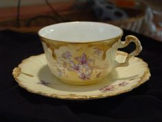 limoges tea cup and saucer | Limoges tea cup and saucer