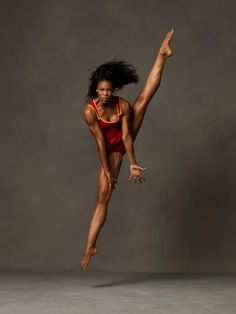 Briana Reed. Photo by Andrew Eccles - Via Alvin Ailey American Dance Company