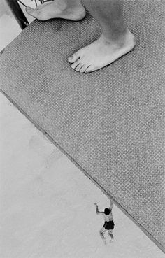 JULIA BAIER, PUBLIC BATHS 2002: this whole series of photos. #human #swimmingpool #micro