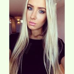 Love this sexy scandinavien look on girls , i wish i was this type aswell, but I have dark hair and eyes and olive skin