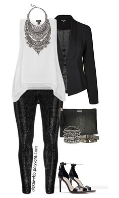 """""""Plus Size - Turn Down for What"""" by alexawebb ❤ liked on Polyvore featuring Zara, Zizzi, DYLANLEX, GiGi New York, Vince Camuto, Valentino, outfit, plussize, plussizefashion and PolyvorePl"""