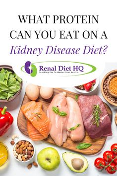 RDHQ Podcast Does the type of protein matter for CKD? Plant based or omnivore diet for kidney disease? Quick Healthy Meals, Heart Healthy Recipes, Healthy Dinner Recipes, Diet Recipes, Healthy Eating, Healthy Kidneys, Healthy Food, Renal Diet Food List, Renal Diet Menu