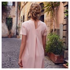 Powder Pink, Accent Decor, Feminine, Shirt Dress, Boutique, Chic, Model, Party Dress, How To Wear