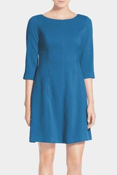 NWT Vince Camuto VC5P9159 Crepe A-Line Dress #75 SEA BLUE 10P | Clothing, Shoes & Accessories, Women's Clothing, Dresses | eBay!