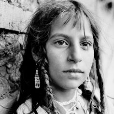 Gipsy girl. Taken on December 25, 2006. Photo by Daniel Cojanu.