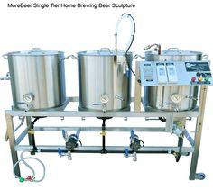 Single Tier Home Brewing Sculpture. #craftbeer #Brewery #home brew #home brewing #brew sculpture