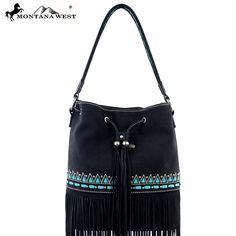 Montana West MW195-8108 Fringe Handbag