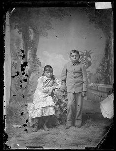Kesetta Roosevelt, Jack Mather - Lipan Apache - circa 1890