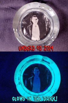 Dracula 4 Inch Ashtray by Undead Ed Glows In The Dark by Zoombiez, $20.00