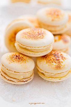 Macaron original crème brûlée