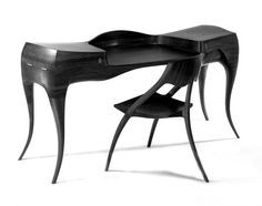 Wharton Esherick chair and desk, 1966