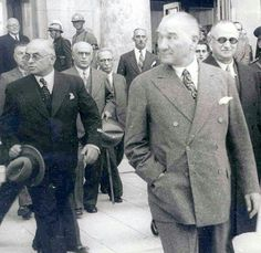 Rare images of Atatürk - Milliyet Photo Gallery Audiophile Speakers, Turkish Army, The Turk, Rare Images, Great Leaders, Big Men, The Republic, Revolutionaries, Historical Photos