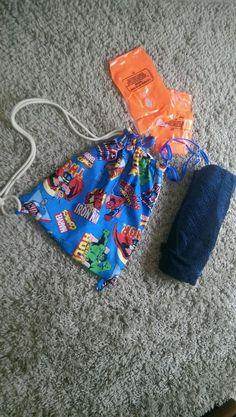 Marvel swim bag fully waterproof