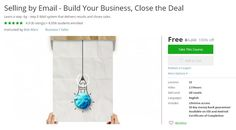 Coupon Udemy - Selling by Email - Build Your Business, Close the Deal [100% Off]…